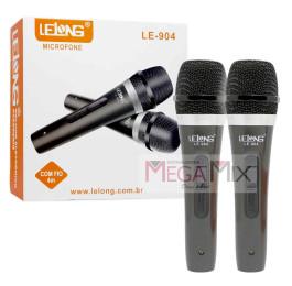 Microfone com Fio 4M C/2 LE-904 - Lelong