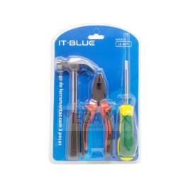 Kit de Ferramenta com 3 peças LE-967 - It-Blue