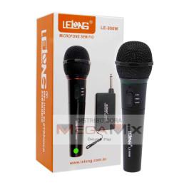 Microfone sem Fio LE-996W -Lelong