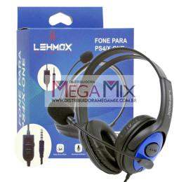 Fone de Ouvido Headset Gamer PS4/X-One LEY-35 - Lehmox