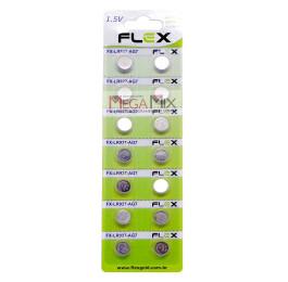 Bateria Lithium 1.5V - Cartela 14 Unidades FX-LR927 - Flex