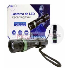 Lanterna  de LED Recarregável LT-424 - Luatek