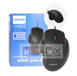 Mouse com fio USB M444 SPK7444 - Philips