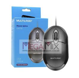 Mouse Óptico USB MO300 - Multilaser