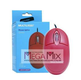 Mouse Óptico USB MO303 - Multilaser
