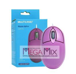Mouse Óptico USB MO304 - Multilaser