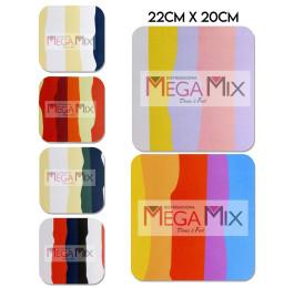 Mouse Pad Listrado Color 22cm x 20cm