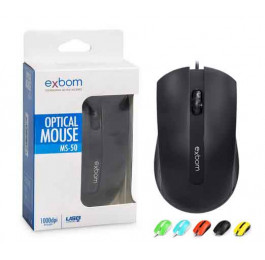 Mouse Gamer USB Color MS-50 - Exbom