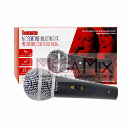 Microfone Dinâmico com fio MT-1012 - Tomate