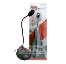 Microfone de Mesa MT-1027 - Tomate