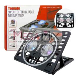 Base Cooler com Suporte para Notebook/Tablet e Celular MTN-889 - Tomate