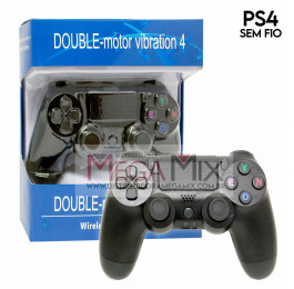 Controle para PlayStation 4 sem fio Double Jie