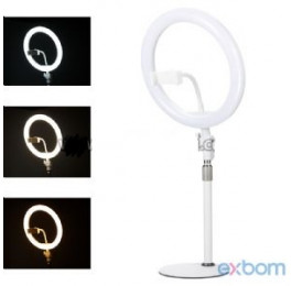 Iluminador Ring Light de Led 8 polegadas  ILUM-R10P15 - Exbom