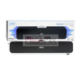 Caixa de Som para PC/Notebook 6W KP-RO801 - Knup