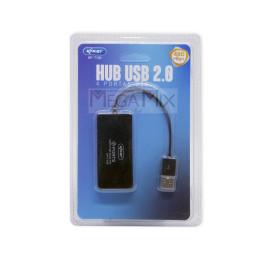 Hub USB 2.0 4 Porta KP-T109 - Knup