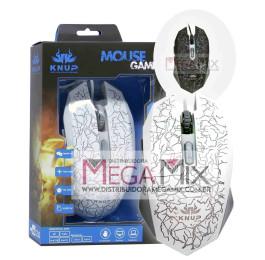 Mouse Gamer com fio USB KP-V16 - Knup
