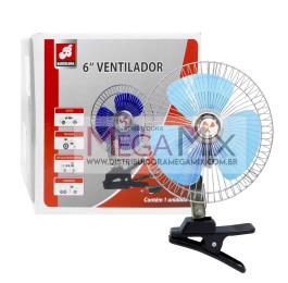 Ventilador Automotivo 12V 6'' BAR-51217 - Barcelona