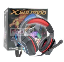 Fone de Ouvido Headset Gamer X Soldado GH-X2000 - Infokit