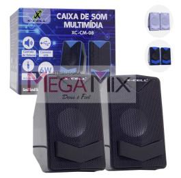 Caixa de Som para PC/Notebook XC-CM-08 - X-Cell